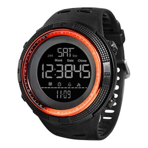 Shiyunme Dial Grande Esportes à prova d'água Multi-funcional popular Luminosos relógio eletrônico