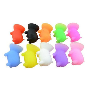 Silicone Phone Holder Universal Pig Shape Colored Cell Phone Holder Lazy Phone Holder For Tablet Computer Seat Home Life Supplies DHB3817