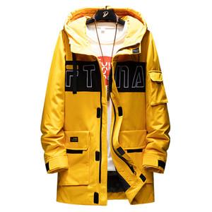Men's Winter Coat Men Hooded Casual Outdoor Thick Warm Man Jacket Parka Fashion Windbreaker Mens Overcoat