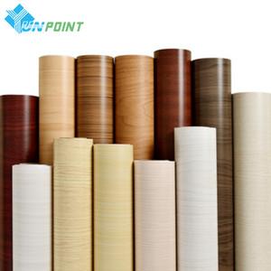 60 * 300 см ПВХ самоклеящийся водонепроницаемый стена бумаги ремонт мебели деревянные зерна наклейки на стену кухонный гардероб декоративный фильм 201009