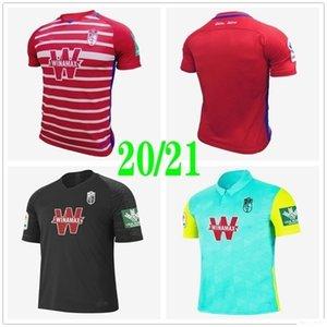 2020 Новая Гранада Футбол Футбол Футбол Ф.В.Пуэртас Vistordiaz Пользовательские 20 21 Granada CF Домашняя Униформа Третья футбольная форма