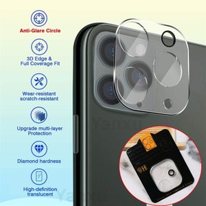 500Pcs Wholesale Camera Glass Film For iPhone 12 Pro Max Full Cover Lens Screen Protector For iPhone 12 Mini 11 Pro Max Glass