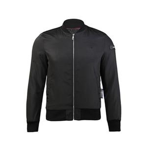 2020ss En Kaliteli Phil erkek Pu Faux Deri Ceket Kaban Kafatası Başkanı Ceket Kış Sıcak Ve Ince Erkek Fermuar Moda Tasarım 017