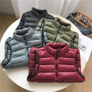 COUTUDI Frühling und Herbstweste Herrenweste Trend Ins tragen ärmellosen koreanisch übergroßen Jacke Mantel Schulter1