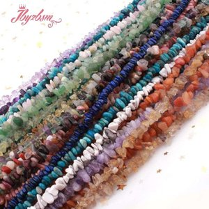 "Natural Stone Beads Chip Beads Irregular Shape For Jewelry Making Diy Necklace Bracelet Earring Loose 4-5x5-7mm Strand 15"" wmtukQ bdesybag"