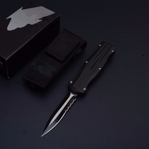 4 models butterfly B07 A10 3320 3321 double action D E Hunting Folding Pocket Knife Survival auto automatic Knife Xmas gift