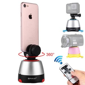 3 in1 360Degree Panoramic Gimbal For Mini Tripod With Phone Clip+Bluetooth Remote For Samsung Huawei Phones