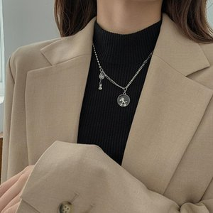 Fashion Concise Horse Horse Necklace Womens Sweater Chain Long Clavicle Chain Fashion Red Factory Direct Sales sqcmCg queen66
