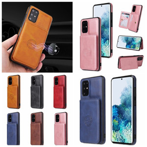 Fashion PU Leather Wallet Case For Huawei P40 Pro Mate 30 Pro P30 Support Magnetic Car Mount Holder Mobile Phone Cell Phone Cover