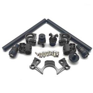 CNC Hand Grip Faucet Handlebar Assembly Handle Bar For NINJA 250 300 2013 2014 2020 2020 Motorcycle Aluminum Parts1