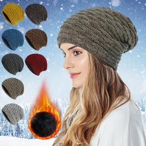 Autumn Winter Beanie Hat for Women Winter hat for Women Warm Knitted Cap Gorros Female Cap High Qaulity Hip Hop Warm Beanies