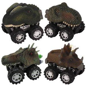 MC لعبة دينو سيارة مصغرة ديناصور نموذج powercar الديناصور لعبة الظهر من سيارة الظهر من سيارة نموذج هدية