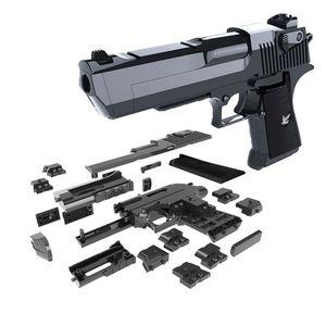 2020 Yeni Yapı Taşları Oyuncaklar Silah Oyuncaklar Gun Çöl Kartal ve Tabanca WTIH Bullet Plastik Plastik Tabanca Modeli Çocuk Erkek Hediye Için
