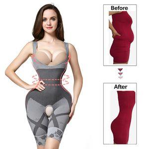 Waist trainer Shapers women Slimming Underwear corset for Weight Modeling Strap Shapewear body shaper Slimming Belt faja T200707