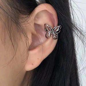 Accesorio de moda Accesorio Corea La misma minoría Hueca de mariposa Sin agujero Pendientes de moda del clip de las mujeres