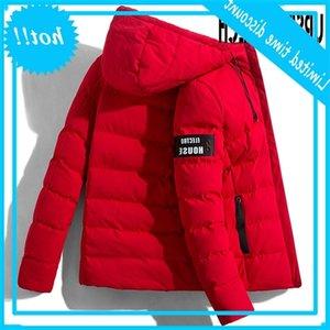 Ursporttech - 남성용 겨울 코트, 패딩 재킷, 패션, 겉옷, 소방관, 2020