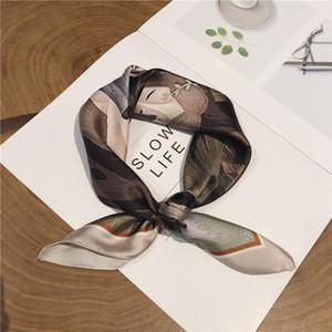 New Products Scarf Exquisite Silk Order- Spring Summer Women Polyester Adult Cn(origin) for Ladies Designer