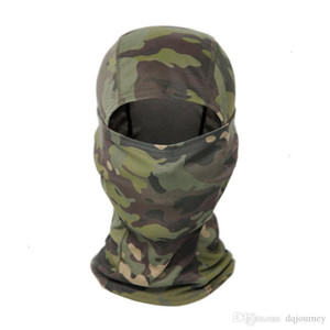 Factory Outdoor Tactical Camouflage Balaclava Full Face CS Wargame Cycling Hunting Bike Windproof Helmet Liner Army CP Scarf Mas 4 NWN31