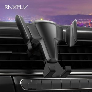 RAXFLY Auto Lock Car Holder For Phone in Car Air Vent Mount No Magnetic Mobile Phone Holder Stand For