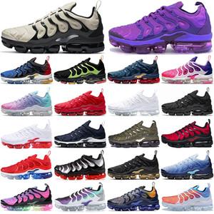 vapormax plus tn vapor vapors max tn plus running shoes TN plus chaussures de course en plein air hommes femmes formateurs tns hommes femmes baskets de sport surdimensionnées 36-47
