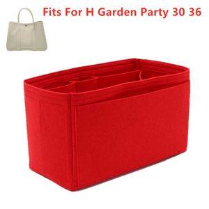 Fits Tote Cosmetic Insert Party Organizer Garden For Makeup H Handbag Organize Portable Bags Base Shaper Designer Jifwm