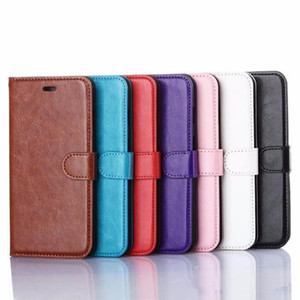 For iPhone 12 11 PRO XS MAX XR Phone Case PU Wallet Cases with Photo Frame Slot Leather Case Covers for S10 S10 PLUS Note 9 S9 PLUS Note20