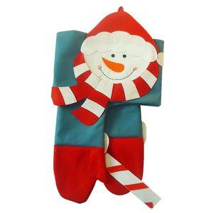 1 pc Natal boneco de neve cortina casa de neve cortina xmas pano quarto pano pendurado para shopping p