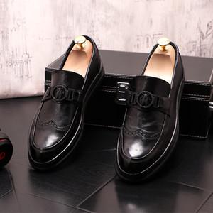 Spring Mens Shoes Sapatos Únicos Sapatos de Luxo Homens Designer Sapatos Zapatos Hombre Vestir