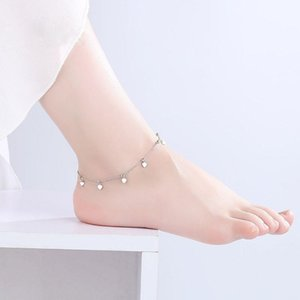 European and American fashion Anklet Fine jewelry Simple accessories Suitable for Social gathering party Cool gift