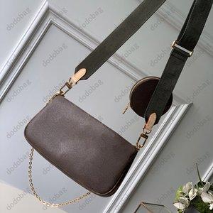 Nuevos bolsos de hombro Conjunto de tres piezas Piscina Clásico Bolsos de mujer Bolso de mujer Lady Messenger Bag Satchel Cross Body Bag Dama Paquete Purse-44813