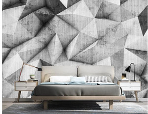 custom 3d wallpaper classic painting wallpaper Modern minimalist abstract three-dimensional geometric wallpapers TV background wall