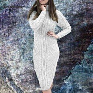 UVRCOS 2020 осень зима женская мода с длинным рукавом.
