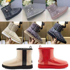 2021 designer clássico lã cashmere claro 20 short ii tripla austrália mulheres mulheres boot inverno neve botas mini peludo australiano boot c8vg #
