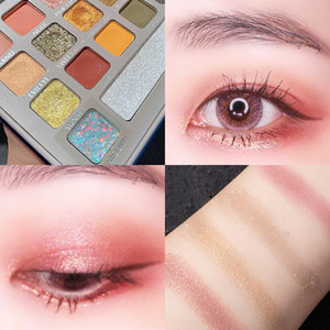 NEW 28Color Matte Glitter Eyeshadow Waterproof Sweat-proof And Not Easy To Smudge Shimmer Eye Shadow Palette Eye Makeup TSLM1