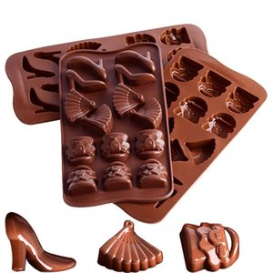 Silicone Circular Square Moulds Chocolates Candy Molds Ice Lattice Mold Popular Hot Selling With Various Pattern 2 67tl J1