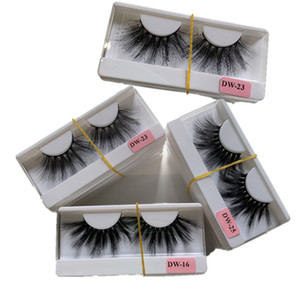 25mm 3D Mink lashes 20 styles Eye makeup False eyelashes Soft Natural Thick Fake Eyelashes 3D Eye Lashes Extension Beauty Tools 300 pairs