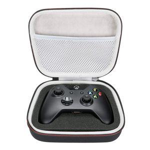 Armazenamento EVA Hard Case Travel Transportando Saco Portátil para Xbox One / Xbox One S / Xbox One X 360 Controller com bolso de malha