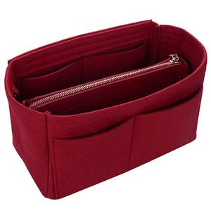 Handbags Organizer Bags Bag Felt Case Cosmetic Insert Makeup Toiletry Travel Cases Rmruc