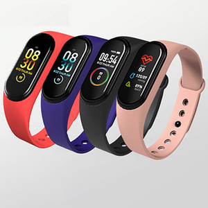 m4 watch sport bracelet wristband waterproof Blood Pressure Heart Rate Monitor Hot Sells New Products m4 smart watch