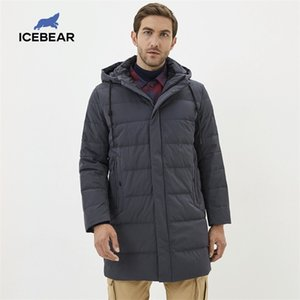 icebear new winter men's clothing fashion casual men's coat warm men's down jacket MN318821P 201021