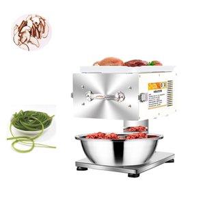 Automatique Slicer à viande électrique Slicer de légumes manuels de bureau en acier inoxydable en acier inoxydable, broyeur de viande 220V