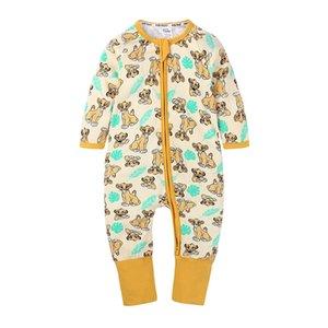 Wasailong Babysuit Tuta Neonato Pagliaccetto Ragazzi Ragazzi Ragazze Manica lunga 3-24 mesi Toddler Bambini Vestiti 201127