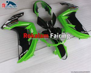 Motorradverkleidungen für Kawasaki Ninja 650R ER6F ER 6F 2012 2013 2014 2015 ER-6F EX650 650R grünes Motorradverkleidungsset (Spritzgießen)