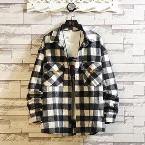 Spring Mode Autumn 2020 new casual jacket of Japanese men streetwear designer clothes oversize M-XXXL 4xl 5xl 6xl KUH4