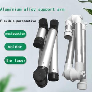 Alliage d'aluminium Bras pliant Aspiration et décharge Bamboo Universal Bamboo Support Soudage Dentaire Laser MOxibustion Purificateur de fumée Tube de marquage