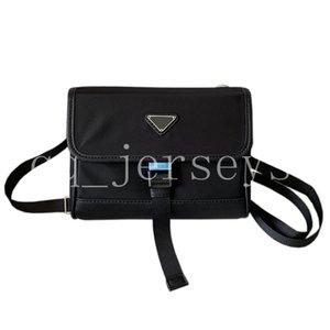 Nueva moda de alta calidad de diseño de lujo para hombres y mujeres teléfono móvil Messenger Cambie de cámara de un hombro bolsa horizontal