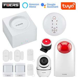 Fuers G95 Wireless Alarm Wifi GSM Security System System Kit Tuya App Control Control Motion Detector Sensor Sensore Allarme Sistema di allarme Y1201