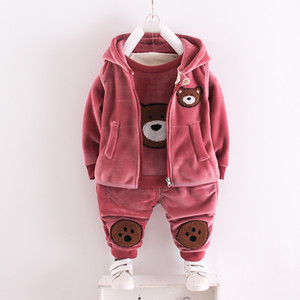 Baobaoqiu suit 2020 new winter children's and girls' clothes