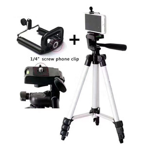 Adjustable Portable Phone Holder Camera Tripod Stand 3110 Aluminum Alloy Tripod Portable Mobile Phone Live Holder