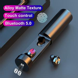 B9 TWS Bluetooth Features Sem Fio Fone de Ouvido 8D HiFi Sport com Mic Earbuds Gaming Music Headset para Xiaomi Huawei